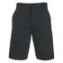 Helmut Lang Men's Tweed Ottoman Shorts - Black Heather: Image 1