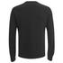 Helmut Lang Men's Collarless Padded Jersey Bomber Jacket - Black: Image 2