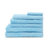Highams 100% Egyptian Cotton 7 Piece Towel Bale (550gsm) - Sky: Image 1