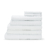 Highams 100% Cotton 7 Piece Towel Bale (550gsm) - White: Image 1