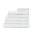 Highams 100% Egyptian Cotton 7 Piece Towel Bale (550gsm) - White: Image 1