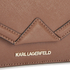 Karl Lagerfeld Women's K/Klassik Super Mini Crossbody Bag - Tan: Image 3