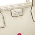 Karl Lagerfeld Women's K/Robot Shopper Karl & Choupette Bag - Cream: Image 4