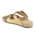 MICHAEL MICHAEL KORS Women's Sawyer Slide Sandals - Pale Gold: Image 4