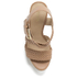 MICHAEL MICHAEL KORS Women's Giovanna Woven Wedge Sandals - Brown: Image 3