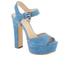 MICHAEL MICHAEL KORS Women's Kincade Platform Sandals - Denim: Image 2