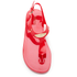 MICHAEL MICHAEL KORS Women's MK Plate Jelly Sandals - Coral Reef: Image 3