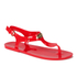 MICHAEL MICHAEL KORS Women's MK Plate Jelly Sandals - Coral Reef: Image 2