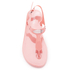 MICHAEL MICHAEL KORS Women's MK Plate Jelly Sandals - Pale Pink: Image 3