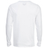 Brave Soul Men's Wolfgang Zip Pocket Long Sleeve Top - White: Image 2
