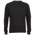 Brave Soul Men's Jacob Zip Sleeved Sweatshirt - Black: Image 1