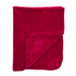 Luxurious Mink Faux Fur Throw - Red: Image 1