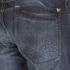 Crosshatch Men's New Embossed Techno Straight Fit Jeans - Dark Wash: Image 4