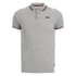 Crosshatch Men's Downtalk Tipped Polo Shirt - Grey Marl: Image 1