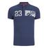 Crosshatch Men's Matrix Two Polo Shirt - Insignia Blue: Image 1