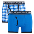 Crosshatch Men's Pixflix 2-Pack Boxers - Directoire Blue: Image 1