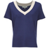 Selected Femme Women's Sonia Knitted Top - Patriot Blue: Image 1