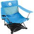 Coleman Low Quad Folding Chair - Blue: Image 1