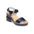 Jil Sander Navy Women's Heeled Sandals - Navy: Image 5