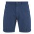 Scotch & Soda Men's Herringbone Slim Fit Shorts - Navy: Image 1