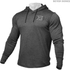 Better Bodies Men's Long Sleeve Cover Up Hoody - Anthracite Melange: Image 1