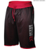 Better Bodies Men's Print Mesh Shorts - Black/Red: Image 1