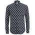 Scotch & Soda Men's Patterned Long Sleeved Shirt - Multi: Image 1