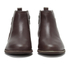 UGG Women's Demi Leather Flat Ankle Boots - Chestnut: Image 4