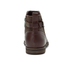 UGG Women's Demi Leather Flat Ankle Boots - Chestnut: Image 3