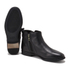 UGG Women's Demi Leather Flat Ankle Boots - Black: Image 6