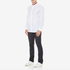 HUGO Men's Ewid Collar Detail Long Sleeve Shirt - White: Image 4