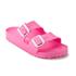Birkenstock Women's Arizona Slim Fit Eva Double Strap Sandals - Neon Pink: Image 3