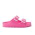Birkenstock Women's Arizona Slim Fit Eva Double Strap Sandals - Neon Pink: Image 1