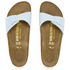 Birkenstock Women's Madrid Slim Fit Single Strap Sandals - Baby Blue: Image 3