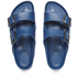 Birkenstock Women's Arizona Slim Fit Double Strap Sandals - Navy: Image 2