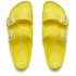 Birkenstock Women's Arizona Slim Fit Double Strap Sandals - Neon Yellow: Image 2