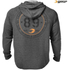 GASP Men's Long Sleeve Thermal Hoodie - Anthracite Melange: Image 2