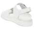 Dr. Martens Women's Shore Romi Petrol Leather Y Strap Sandals - White: Image 4