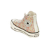 Converse Women's Chuck Taylor All Star Raffia Weave Hi-Top Trainers - Converse Natural/Brake Lights: Image 5