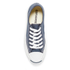 Converse Jack Purcell Unisex Canvas Trainers - Navy/White: Image 3