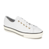 Converse Women's Chuck Taylor All Star High Line Craft Leather Flatform Ox Trainers - White/Egret: Image 2