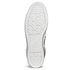 Converse Men's CONS Star Player Perforated Leather Trainers - Black/White: Image 3