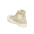 Converse Women's Chuck Taylor All Star Distressed Sequins Hi-Top Trainers - White/Black: Image 5