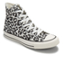 Converse Women's Chuck Taylor All Star Sketchbook Print Hi-Top Trainers - Natural/Roadtrip Blue: Image 4