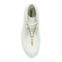 Converse Women's Chuck Taylor All Star Leather Shroud Hi-Top Trainers - Egret: Image 3