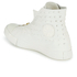 Converse Women's Chuck Taylor All Star Leather Shroud Hi-Top Trainers - Egret: Image 4