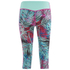 Primal Palm Women's Capri - Purple: Image 2