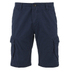 Threadbare Men's Hulk Cargo Shorts - Deep Blue: Image 1