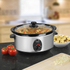 Swan SF17020N Slow Cooker - Stainless Steel - 3.5L: Image 2