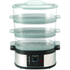 Morphy Richards 48755 3 Tier Steamer - Metallic: Image 2